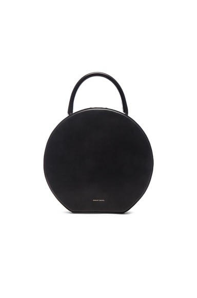 Mansur Gavriel Circle Bag in Black