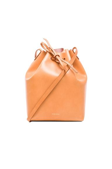 Coated Large Bucket Bag