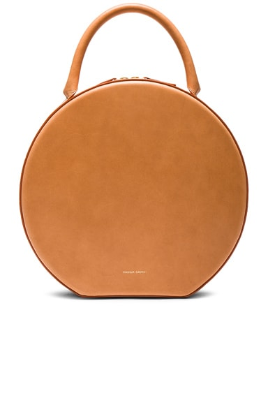 Mansur Gavriel Circle Bag in Cammello