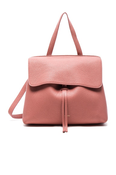 Mansur Gavriel Lady Bag in Blush Tumble
