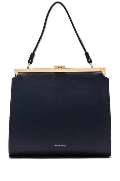 Mansur Gavriel Elegant Bag in Blu