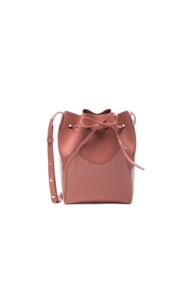 Mansur Gavriel Mini Bucket Bag in Blush