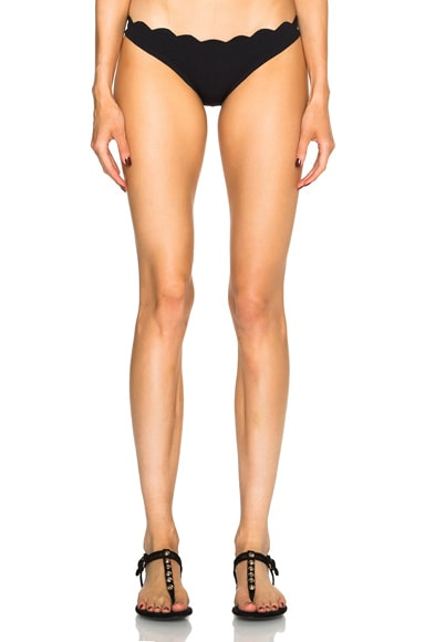 Marysia Swim Santa Barbara Bikini Bottom in Black