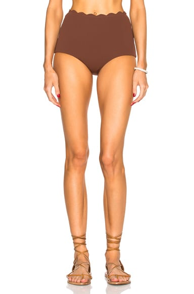 Marysia Swim Palm Springs Bikini Bottom in Kava