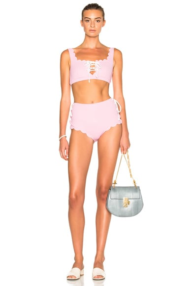 FWRD Exclusive Palm Springs Lace Up Bikini Bottom