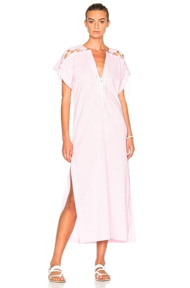 Marysia Swim FWRD Exclusive Caftan Dress in Pale Pink