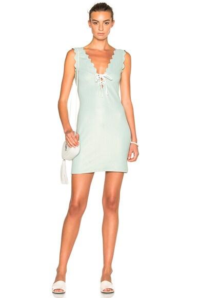 Marysia Swim FWRD Exclusive Mini Dress in Pale Blue