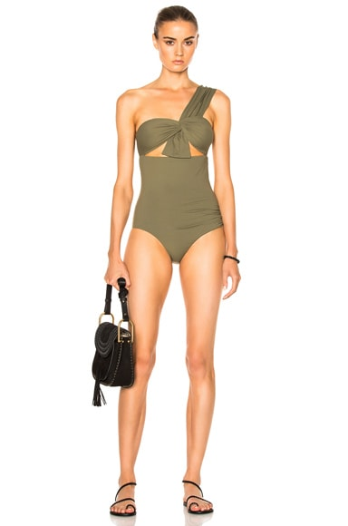 Marysia Swim Venice Swimsuit in Olive