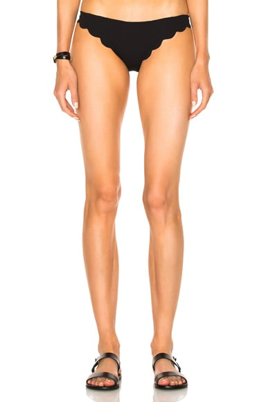 Marysia Swim Broadway Bikini Bottom in Black
