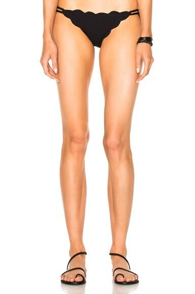 Marysia Swim Mott Bikini Bottom in Black
