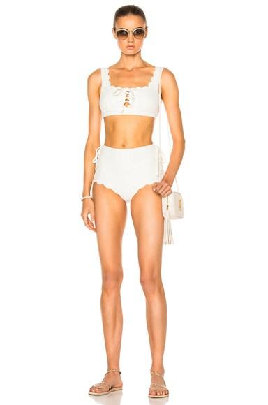 Palm Springs Tie Bikini Top