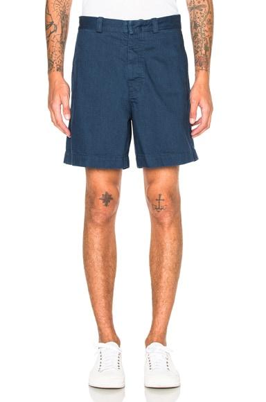 Marni Shorts in Light Blue Denim