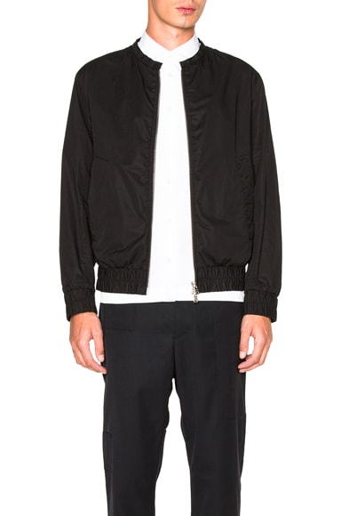 Marni Light Washed Cotton Twill Jacket in Black