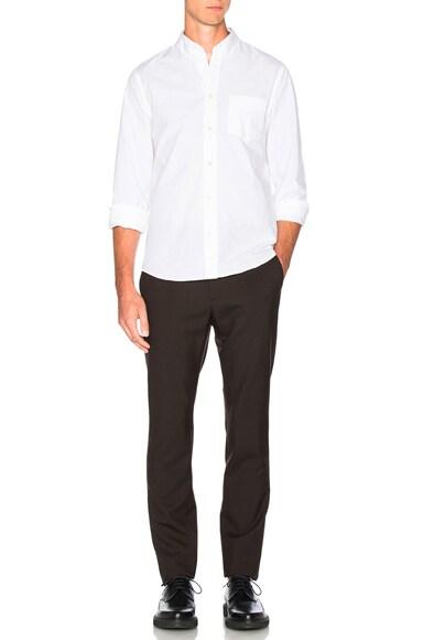 Tropical Wool Slim Trousers