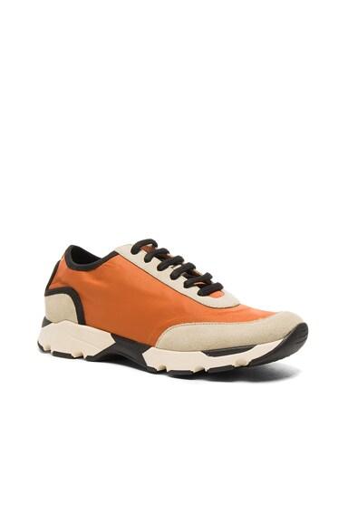 Marni Sneakers in Orange Beige