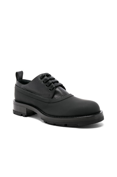 Lace Up Leather Dress Shoes