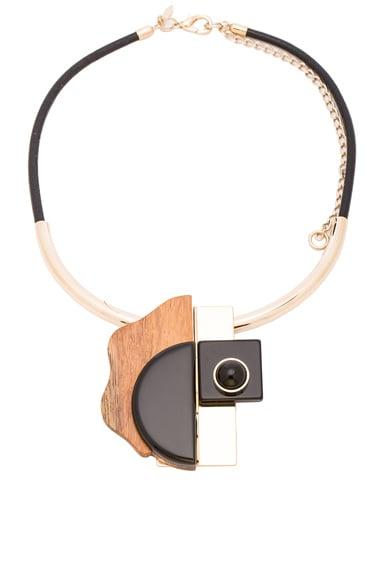 Marni Metal Necklace in Black