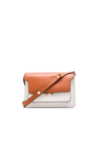 Marni Box Calf Trunk Bag in Light