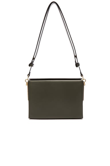 Marni Box Bag in Emerald