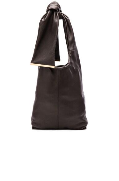 Marni Shopping Bag in Dark Chocolate