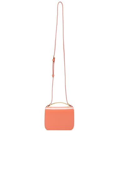 Marni Handle Shoulder Bag in Apricot