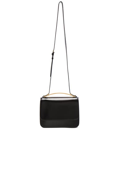 Marni Large Shoulder Bag in Black