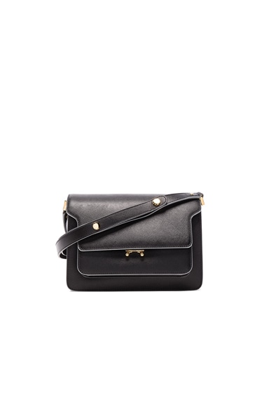 Marni Shoulder Bag in Black