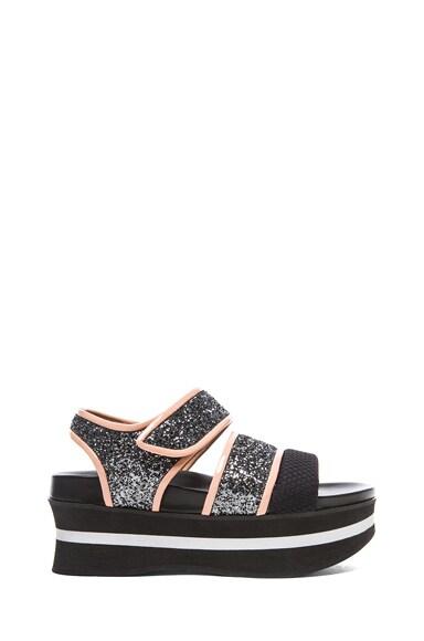 Bonded Platform Sandals