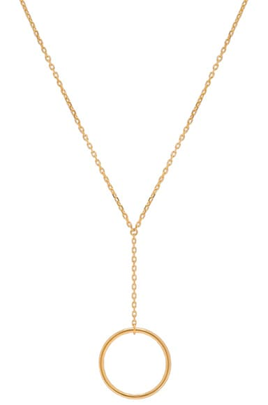 Maria Black Norma Mini Necklace in Gold