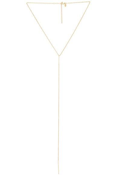 Maria Black 14 Karat Sanae Necklace in Gold