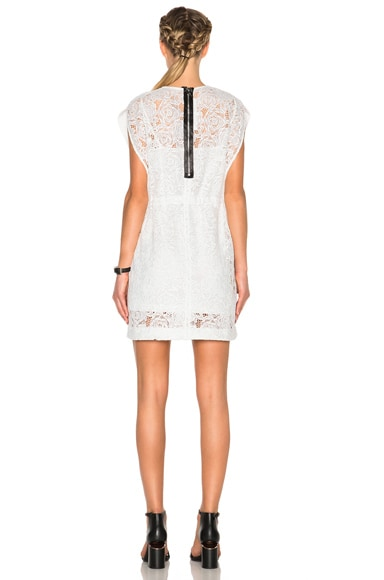 Lace Cape Dress