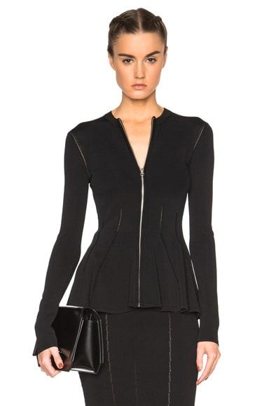 McQ Alexander McQueen Ergonomic Jacket in Darkest Black