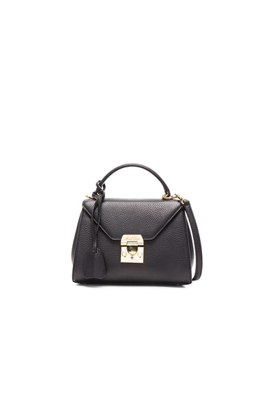 Mark Cross Hadley Baby Flap Bag in Black