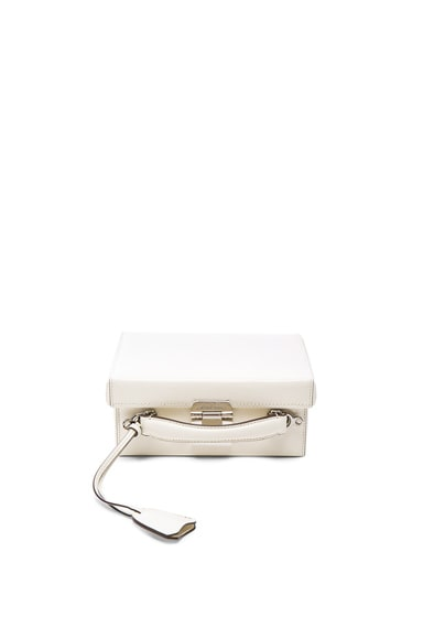 Mark Cross Brush Off Grace Small Box in Winter White