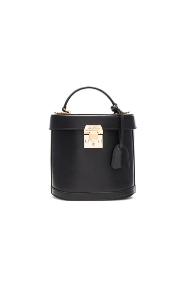 Mark Cross Benchley Bag in Black Saffiano