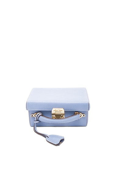 Mark Cross Grace Small Box Bag in French Blue