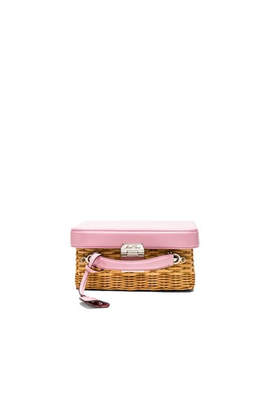 for FWRD Grace Box Rattan Bag