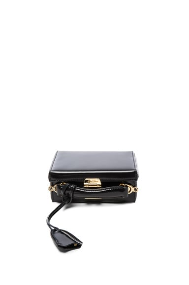 Mark Cross Grace Mini Box Bag in Black