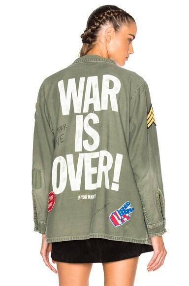 Madeworn John Lennon Jacket in Army