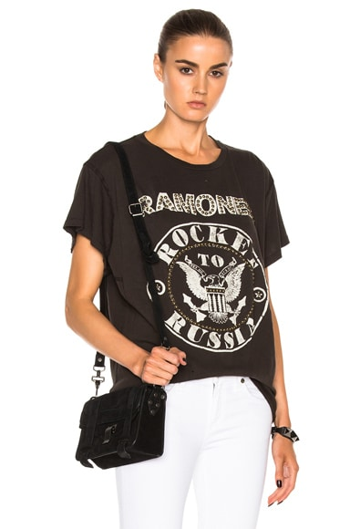 Ramones Rocket to Russia with Nailheads Tee