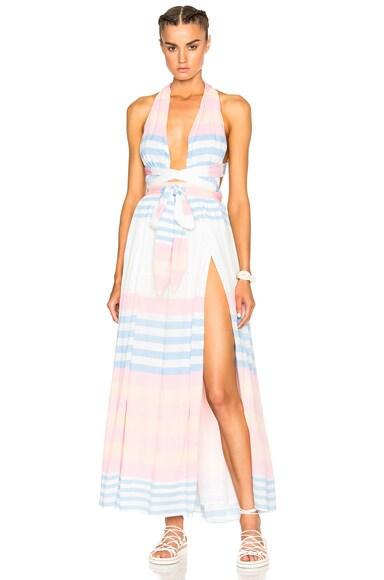 Crinkle Crepe Maxi Dress