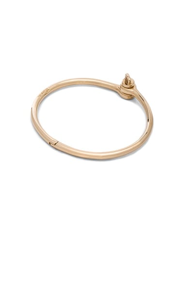 Miansai Thin Reeve Cuff in Polished Gold