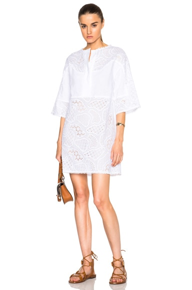 M.i.h Jeans Amo Dress in White