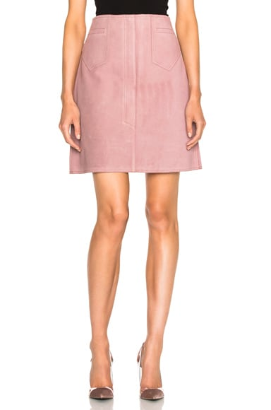 M.i.h Jeans Coda Skirt in Newport Pink