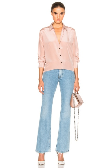 M.i.h Jeans Oversize Top in Dusty Pink