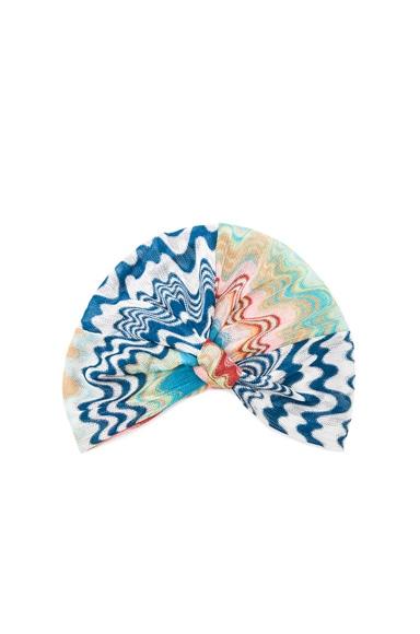 Missoni Mare Turban in Blue Multi