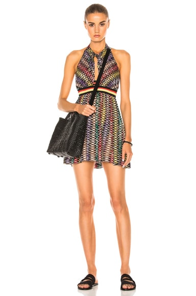 Mini Halter Beach Dress