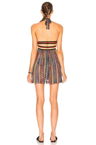 Mini Halter Beach Dress