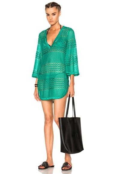Missoni Mare Tunic Dress in Green