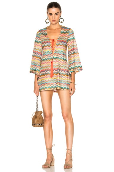 Missoni Mare Lace Up Dress in Multi